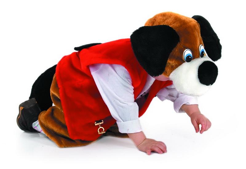 Костюм собаки своими руками для ребенка фото