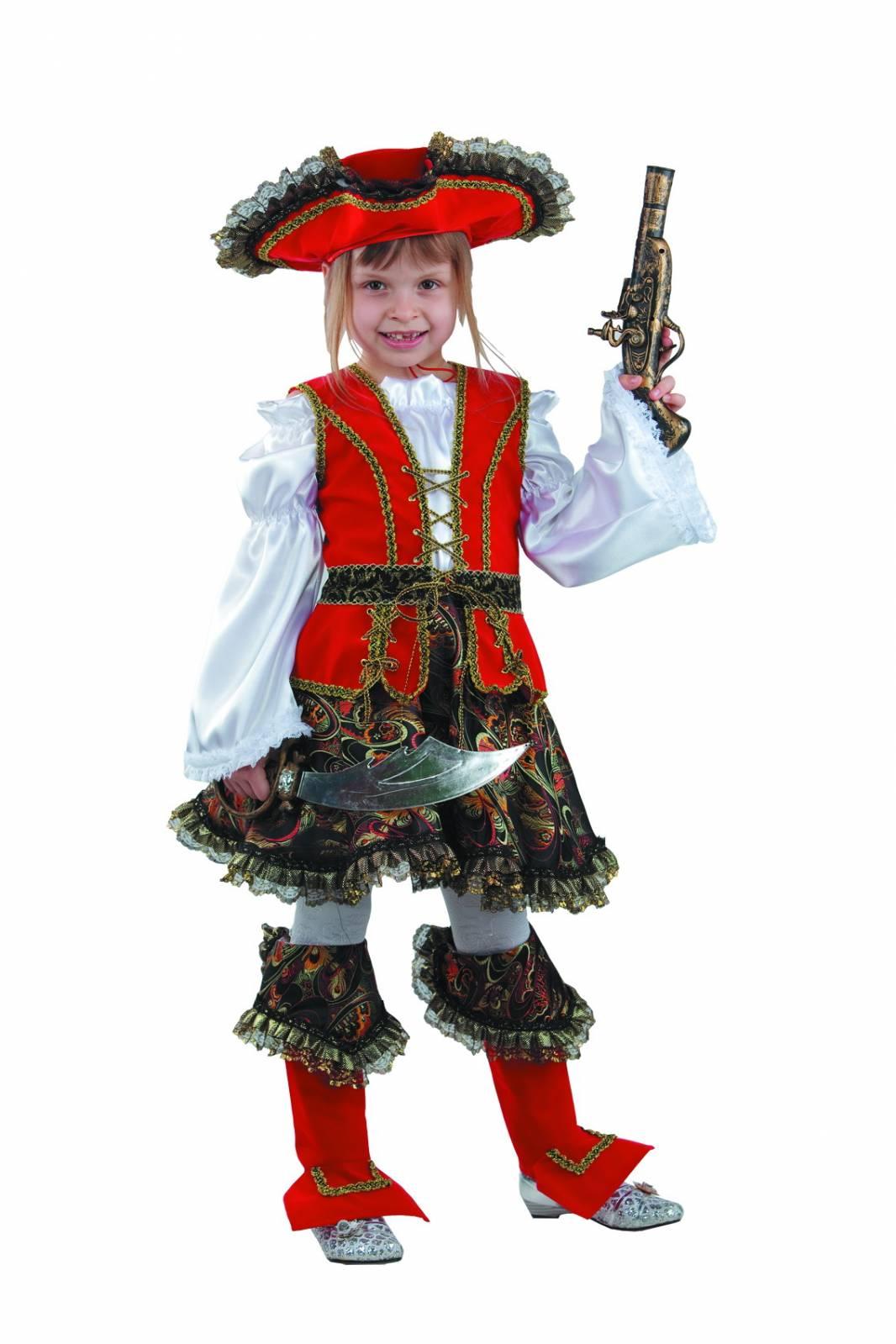 Как сшить костюм маленькой разбойницы